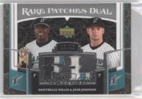 Dontrelle Willis, Josh Johnson /50