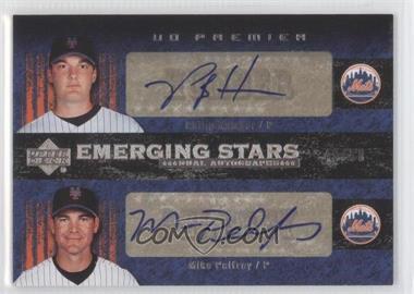 2007 Upper Deck Premier Emerging Stars Dual Autographs #ES2-HP - Mike Pelfrey, Philip Humber /50