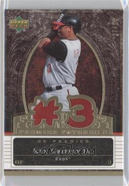 2007 Upper Deck Premier Premier Patches 2 Gold #PP2-KG - Ken Griffey Jr. /50