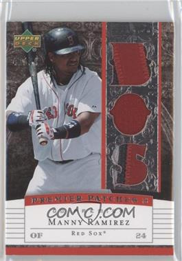 2007 Upper Deck Premier Premier Patches 3 #PP3-MR - Manny Ramirez /94