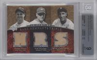 Jimmie Foxx, Lou Gehrig, Hank Greenberg /50 [BGS9]