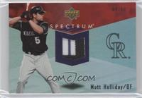 Matt Holliday /50