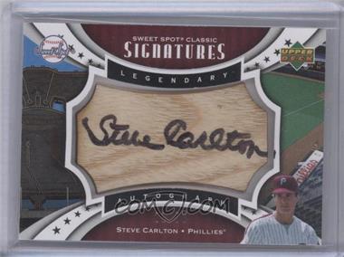 2007 Upper Deck Sweet Spot [???] #SPS-SC - Steve Carlton