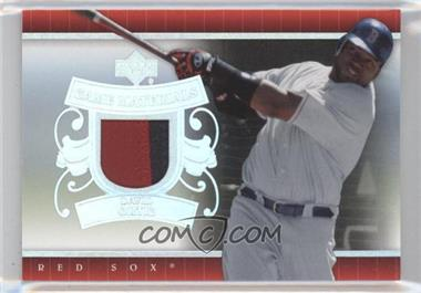 2007 Upper Deck UD Game Materials Patch #UD-DO - David Ortiz