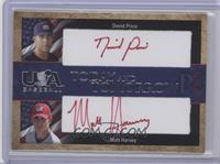 David Price, Matt Harvey, Dan Prior /25