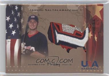 2007 Upper Deck USA Baseball Bound for Beijing Patches #BP-7 - Jarrod Saltalamacchia /4