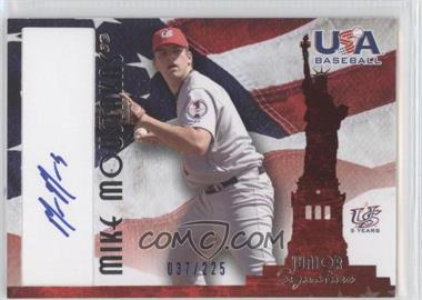 2007 Upper Deck USA Baseball National Signature Blue #A-30 - Mike Moustakas /225
