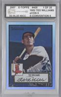 Ted Williams /25 [ENCASED]