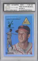 Stan Musial /25 [ENCASED]