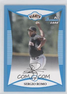 2008 Bowman [???] #BP4 - Sergio Romo /500