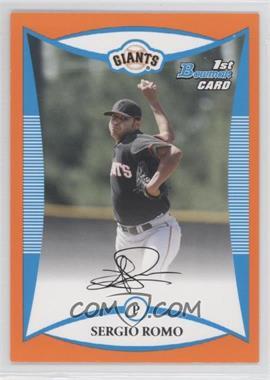 2008 Bowman [???] #BP4 - Sergio Romo /250