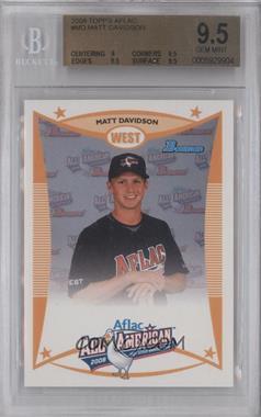 2008 Bowman Aflac #AFLAC-MD - Matt Davidson [BGS9.5]