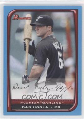 2008 Bowman Blue #134 - Dan Uggla /500