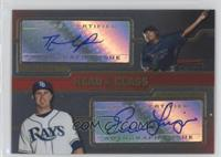 Evan Longoria, David Price, Dan Prior /350