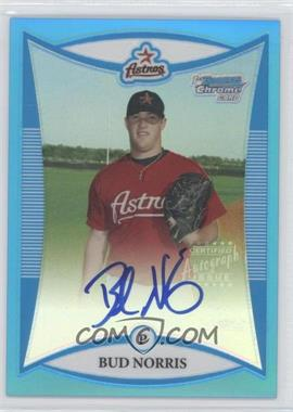 2008 Bowman Chrome Prospects Blue Refractor #BCP272 - Bud Norris /150