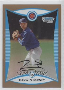 2008 Bowman Chrome Prospects Gold Refractor #BCP197 - Darwin Barney /50