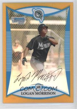 2008 Bowman Chrome Prospects Gold Refractor #BCP69 - Logan Morrison /50