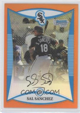 2008 Bowman Chrome Prospects Orange Refractor #BCP83 - Sal Sanchez /25