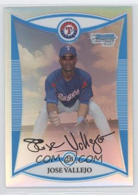 2008 Bowman Chrome Prospects Refractor #BCP215 - Jose Valverde /500