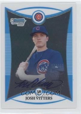 2008 Bowman Chrome Prospects #BCP115 - Prospect Autographs - Josh Vitters