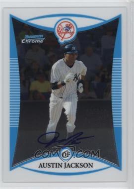 2008 Bowman Chrome Prospects #BCP246 - Prospect Autographs - Austin Jackson