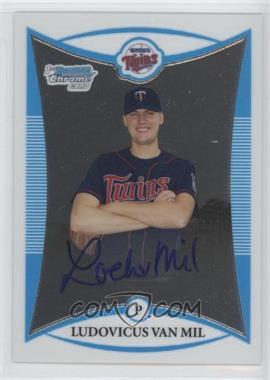 2008 Bowman Chrome Prospects #BCP280 - Prospect Autographs - Ludovicus Van Mil