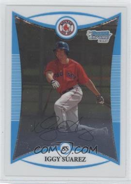 2008 Bowman Chrome Prospects #BCP56 - Iggy Suarez