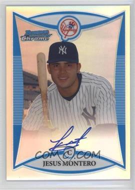 2008 Bowman Draft Picks & Prospects Prospects Chrome Refractor #BDPP127 - Jesus Montero /500