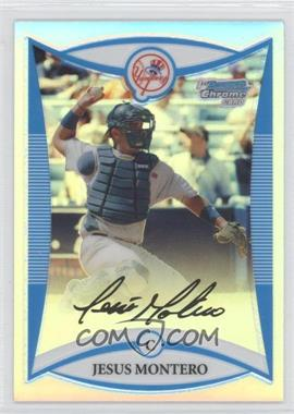 2008 Bowman Draft Picks & Prospects Prospects Chrome Refractor #BDPP86 - Jesus Montero