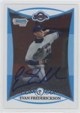 2008 Bowman Draft Picks & Prospects Prospects Chrome #BDPP121 - Evan Frederickson