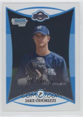 2008 Bowman Draft Picks & Prospects Prospects Chrome #BDPP51 - Jake Odorizzi