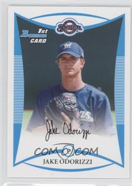 2008 Bowman Draft Picks & Prospects Prospects #BDPP51 - Jake Odorizzi