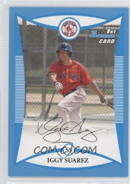 2008 Bowman Prospects Blue #BP56 - Iggy Suarez /500