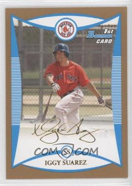2008 Bowman Prospects Gold #BP56 - Iggy Suarez