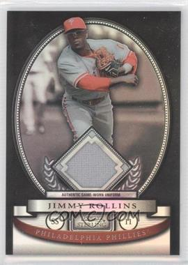 2008 Bowman Sterling Black Refractor #BS-JR - Jimmy Rollins /25