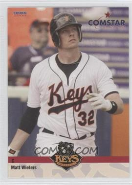 2008 Choice Comstar Federal Credit Union Frederick Keys #25 - Matt Wieters