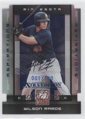 2008 Donruss Elite Extra Edition Aspirations Die-Cuts Autographs [Autographed] #97 - Wilson Ramos /100