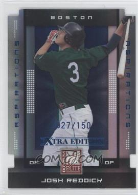 2008 Donruss Elite Extra Edition Aspirations Die-Cuts #59 - Josh Reddick /150