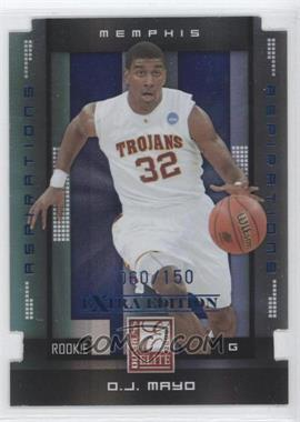 2008 Donruss Elite Extra Edition Aspirations #200 - O.J. Mayo /150