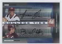 Jose Duran, Brandon Hicks /25