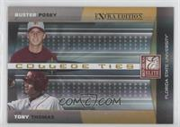 Buster Posey, Tony Thomas /100