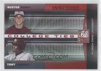Buster Posey, Tony Thomas /50