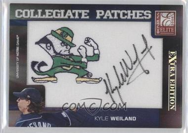 2008 Donruss Elite Extra Edition Collegiate Patches #CP-55 - Kyle Weiland /250