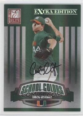 2008 Donruss Elite Extra Edition School Colors Autographs [Autographed] #SC-19 - Carlos Gutierrez /25