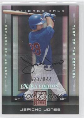 2008 Donruss Elite Extra Edition Turn of the Century Autographs [Autographed] #48 - Jericho Jones /844
