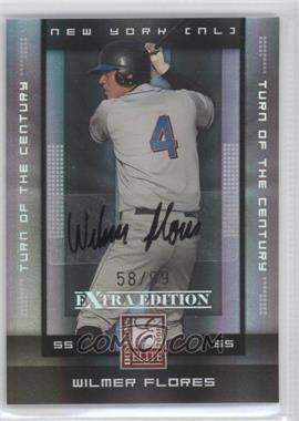 2008 Donruss Elite Extra Edition Turn of the Century Autographs [Autographed] #96 - Wilmer Flores /99