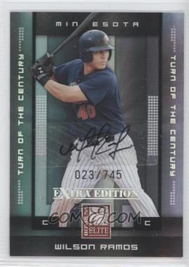 2008 Donruss Elite Extra Edition Turn of the Century Autographs [Autographed] #97 - Wilson Ramos /745