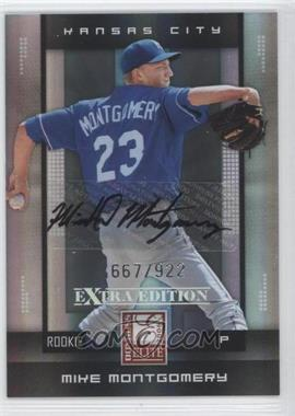 2008 Donruss Elite Extra Edition #150 - Mike Montgomery /922