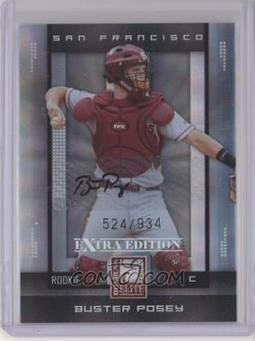 2008 Donruss Elite Extra Edition #177 - Buster Posey /934