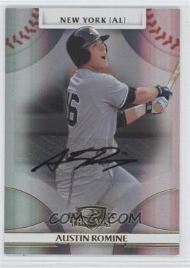 2008 Donruss Threads - [Base] - Gold Signatures #51 - Austin Romine /725